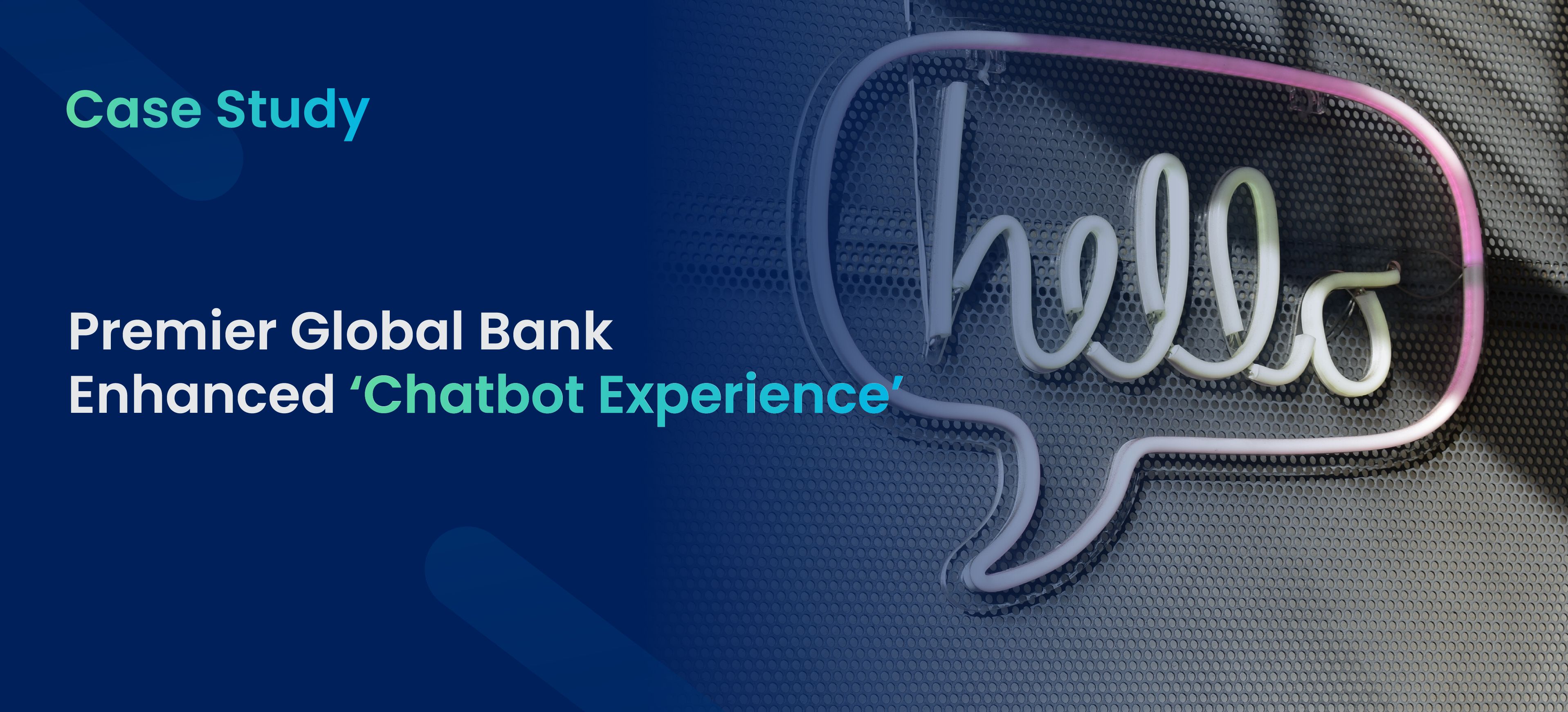 Global Bank uses Emotion AI on chatbot to nurture CX